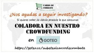 Carro de combate crowdfunding