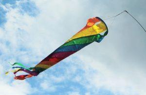 un calcetín de viento