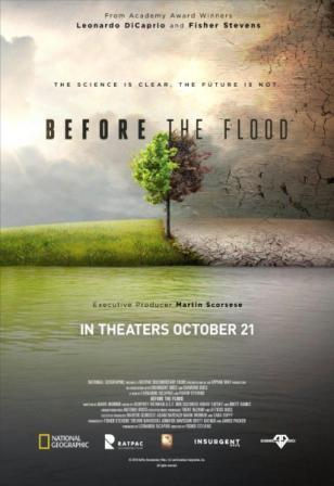 documental Before the flood. Antes de que sea tarde.