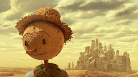fotograma del cortometraje the scarecrowd