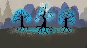 dibujo de la comunicación de los árboles